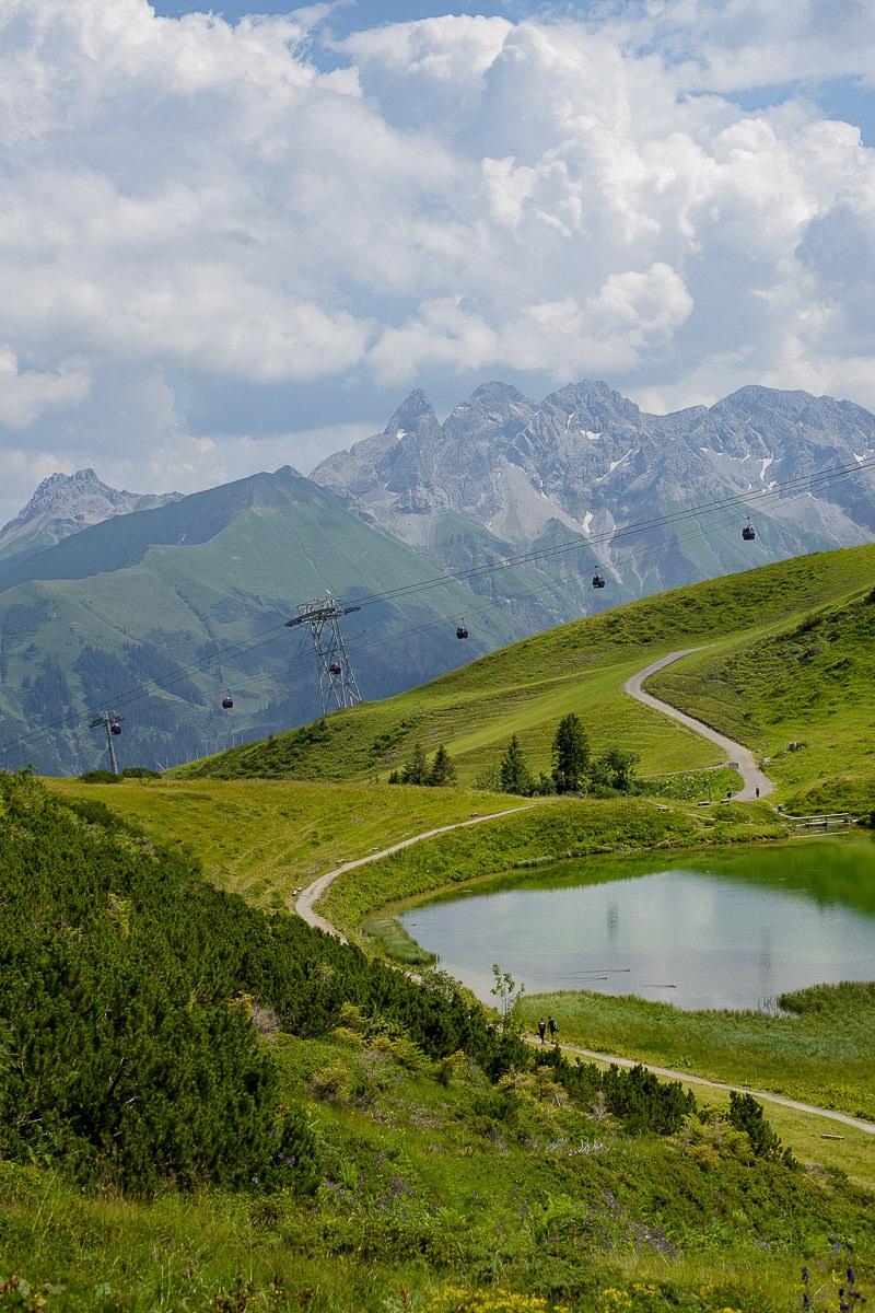 idyllische Naturaufnahme der Landschaft im Allgäu | Foto: Hanna Witte