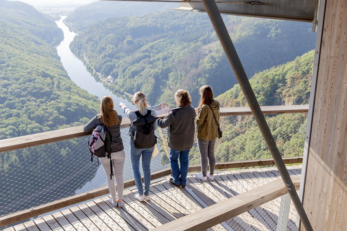 Tourismusfoto von dem Ausflugziel Baumwipfelpfad Saarschleife | Foto: Hanna Witte