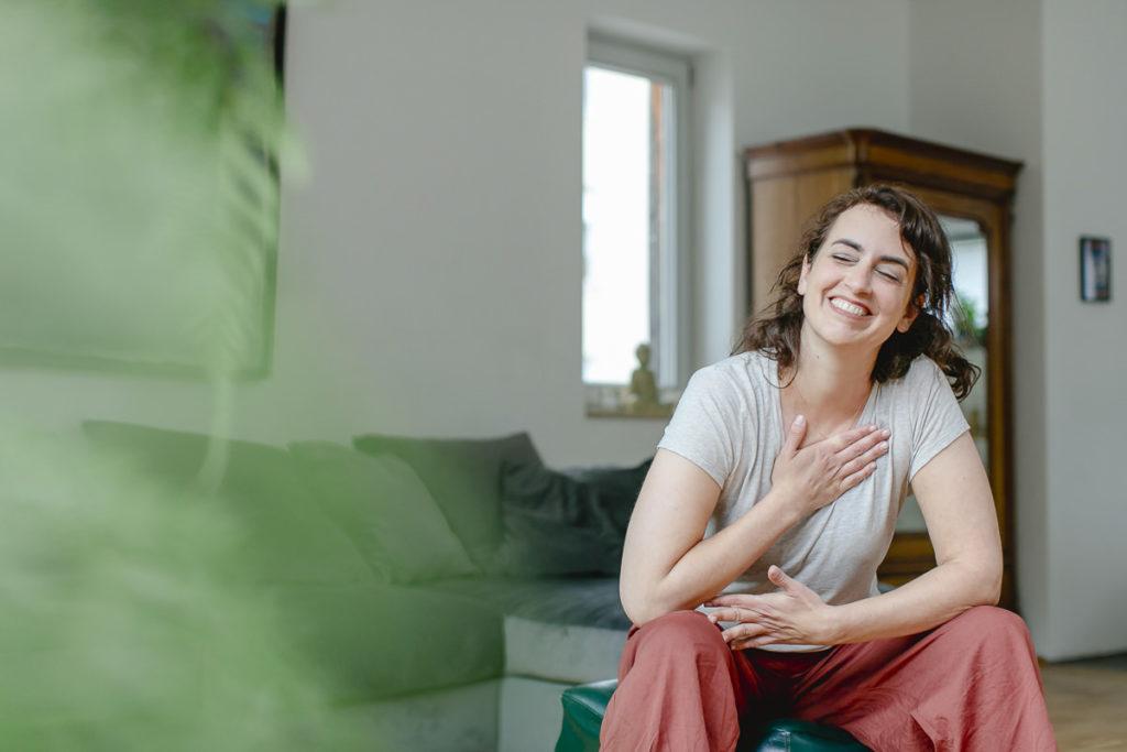 Yogaportraits von Bewusstseinstrainerin Judith Hennemann | Foto: Hanna Witte
