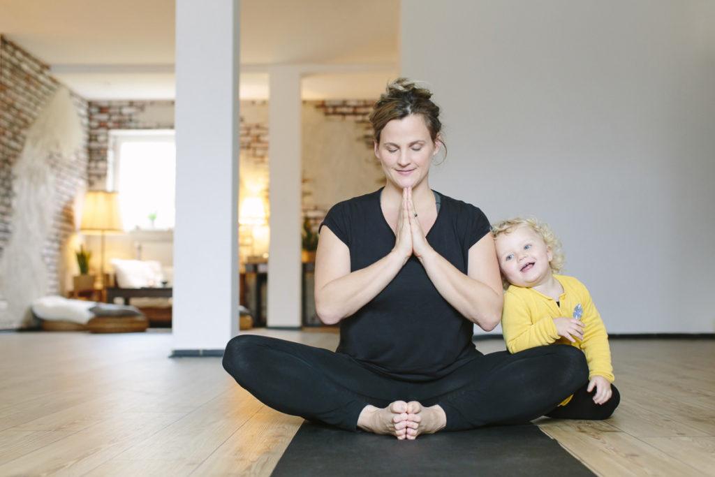 Fotografie für das Yoga Studio Yin und Janka | Foto: Hanna Witte