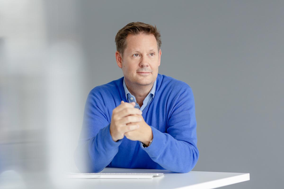 Mitarbeiterfoto eines Angestellten der Firma coparion aus Köln | Foto: Hanna Witte