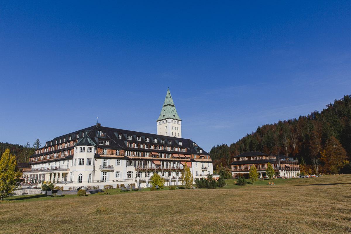 Foto vom Luxury Spa Retreat und Cultural Hideaway Schloss Elmau in Garmisch-Partenkirchen   Foto: Hanna Witte