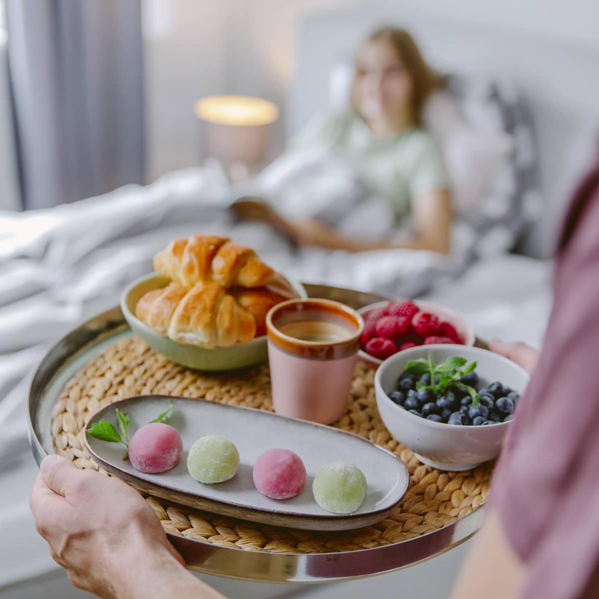 Frühstücksteller mit Leckereien von Eat Happy, fotografiert für Social Media | Foto: Hanna Witte