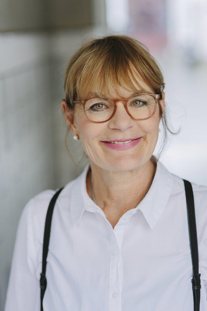 Portrait der Schriftstellerin Susanne Abel