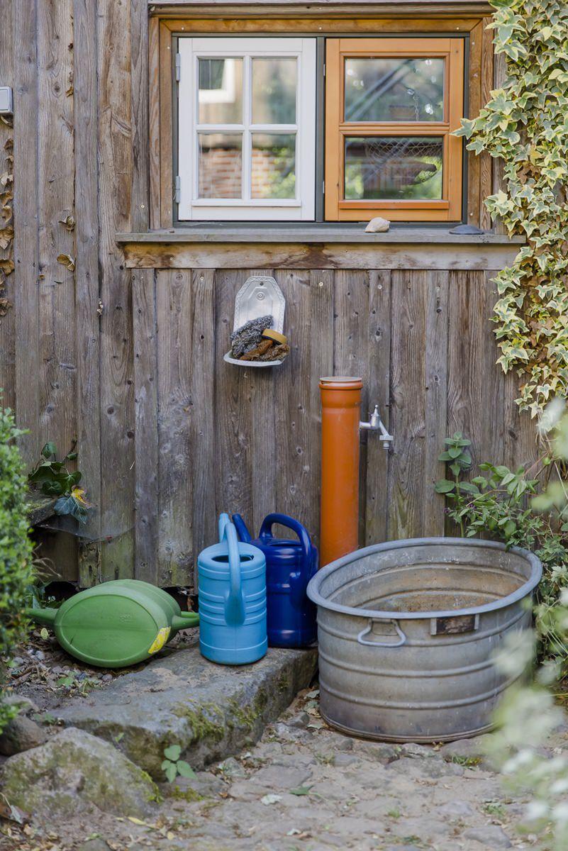 Wasserspender im Zirkuswagenhostel Ulliwood | Foto: Hanna Witte